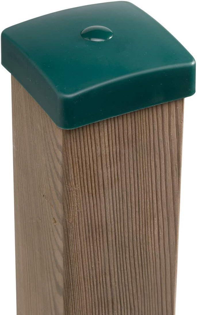 Gartenwelt Riegelsberger Premium PVC Pfostenkappe 70x70 mm ROT Abdeckung f/ür Kantholz 7x7 cm aus Kunststoff
