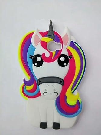 Amazon.com: Huawei Y5 2 funda, stingna 3d punto de unicornio ...