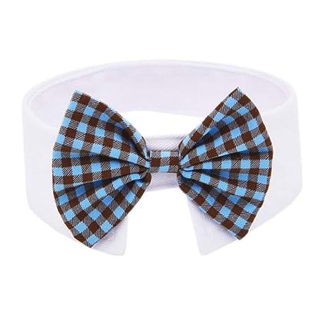Traje de corbata de moño para mascotas - Perros ajustables Gatos ...