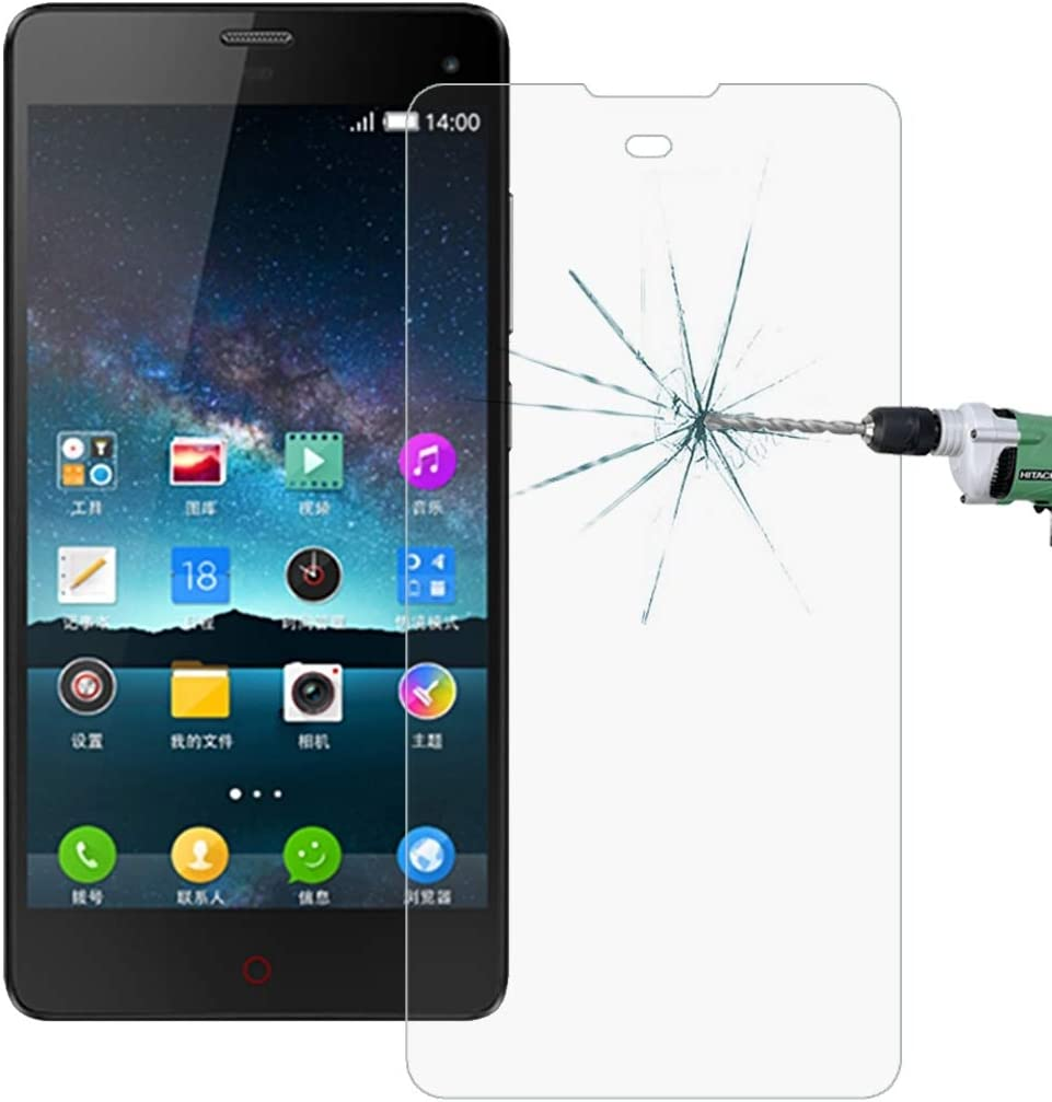 CAIFENG Tempered Glass Film Screen Protector 100 PCS for ZTE Nubia Z7 Max 0.26mm 9H Surface Hardness 2.5D Explosion-Proof Tempered Glass Screen Film Anti-Scratch