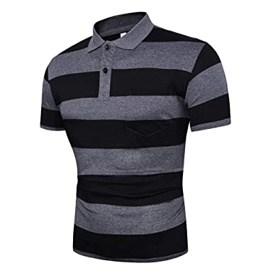 Verano Casual Camiseta Camisa con Cuello Alto Y Corte Ajustado ...