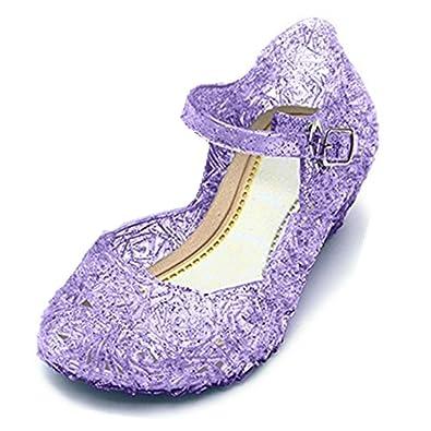 GenialES Prinzessin Gelee Partei Absatz-Schuhe Sandalen für Kinder ...