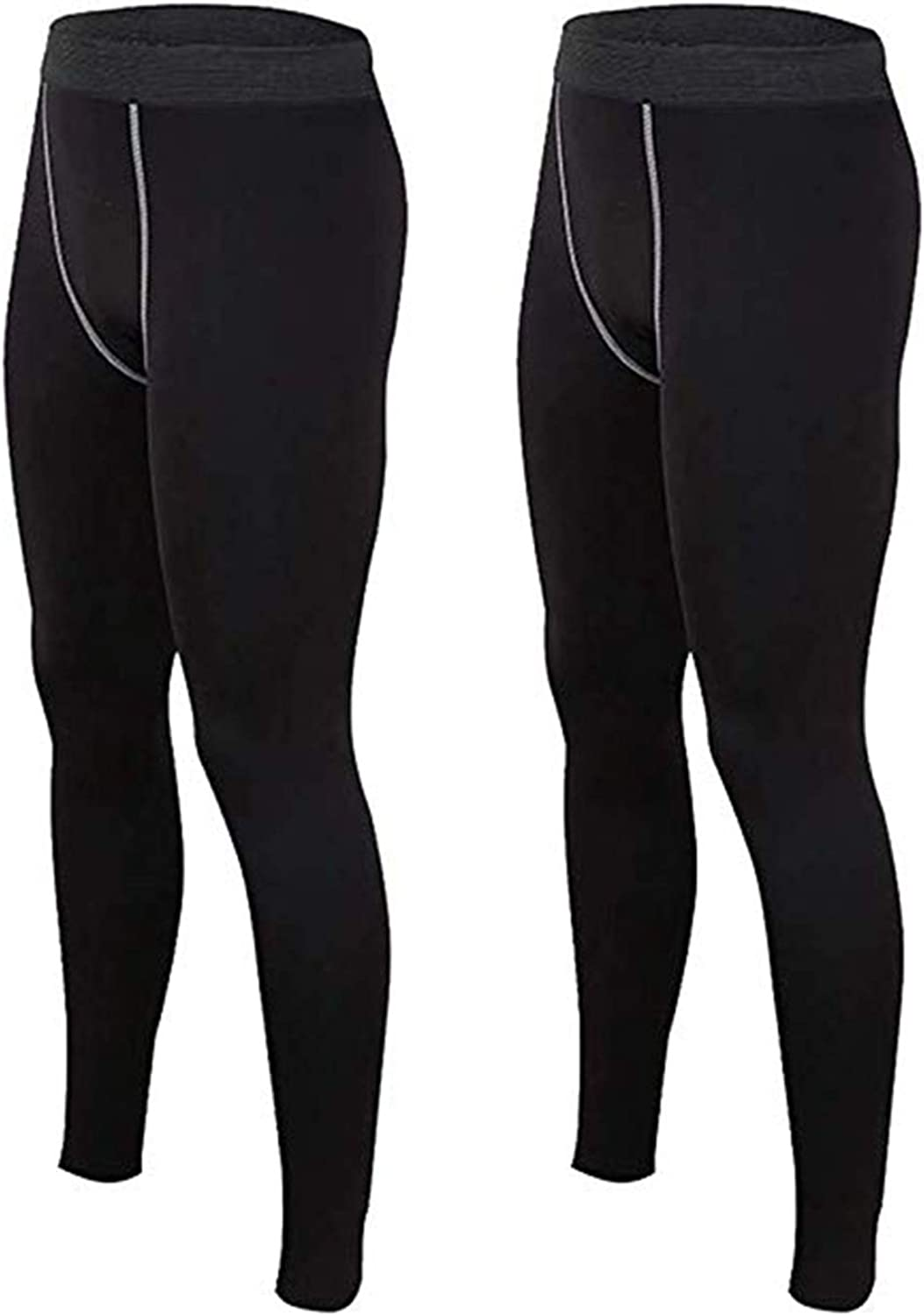 Mens Compression Long Pant Base Layer Sports Workout Leggings Tops Fitness HOT