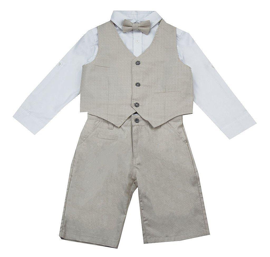 Deux Par Deux Aristo Kids Grey Vest