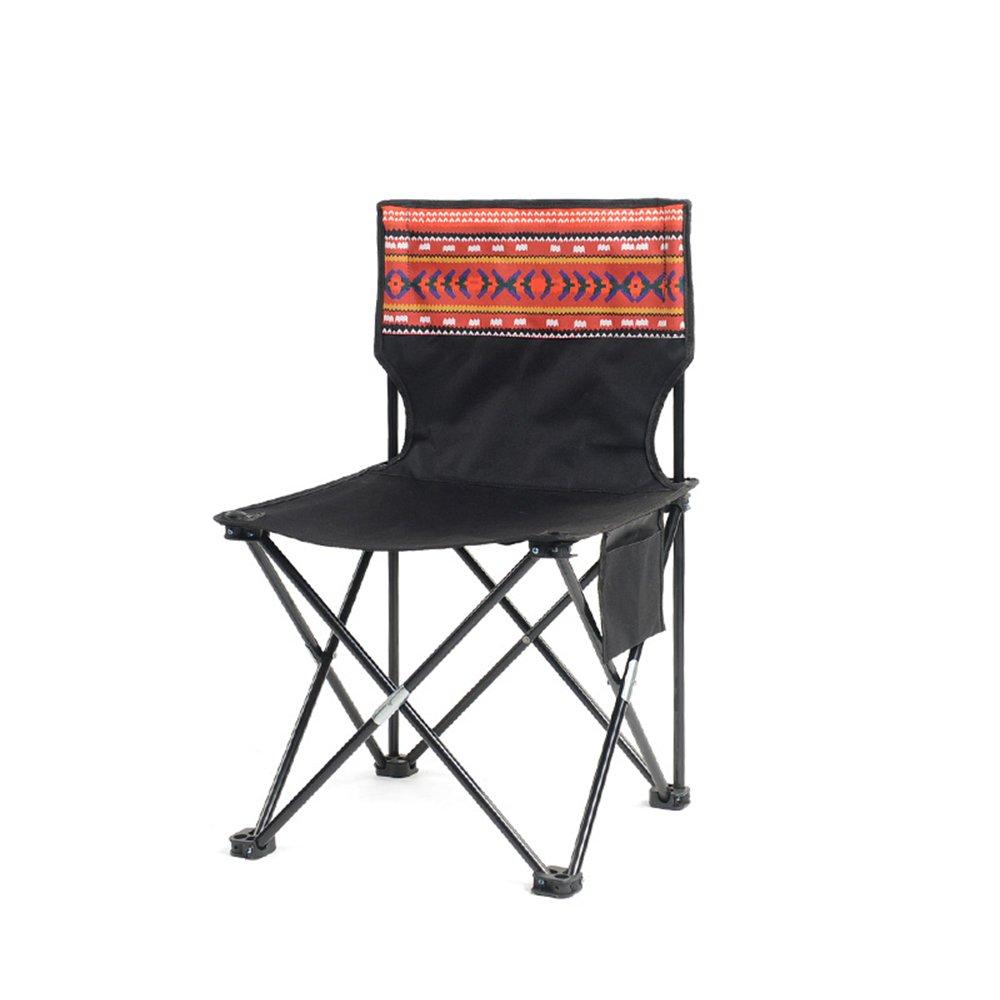 LXJYMX Poltrona Creativa Sedia Pieghevole per Esterni, Sgabello da Spiaggia Portatile da Campeggio, Sedia per Il Tempo Libero, Sedia da Campeggio, Sgabello da Pesca, (colore   B4)