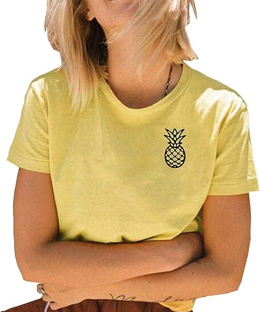 Pineapple T-Shirt Womens Shirts Cute t shirts Cute Pineapple t shirt Graphic Tee