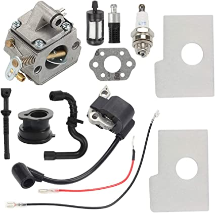 Carburetor Ignition Coil For STIHL Chainsaw 017 018 MS170 MS180 Carb