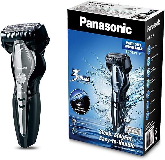 Panasonic Afeitadora 3 cuchillas, Color Negro - 1 Afeitadora ...