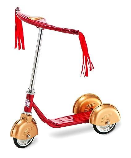 Amazon.com: Retro Scooter Rojo & Oro: Sports & Outdoors