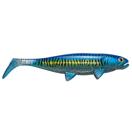 The Mackerel 23cm Blue Mackerel Jackson Gummifisch Norwegen angeln Köder