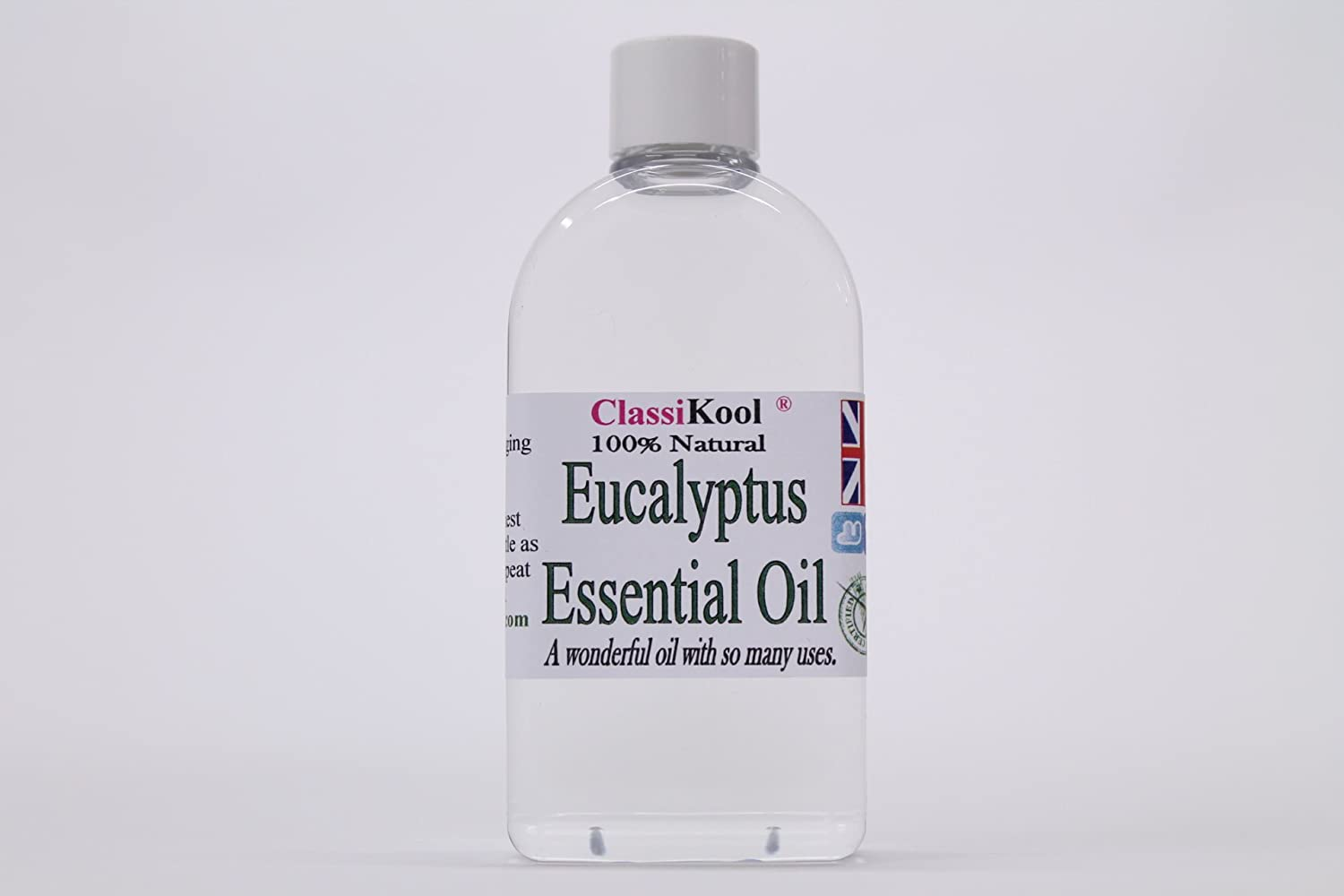 100ml Classikool Eucalyptus Oil 100% Pure Essential Aromatherapy Massage Add to Carrier