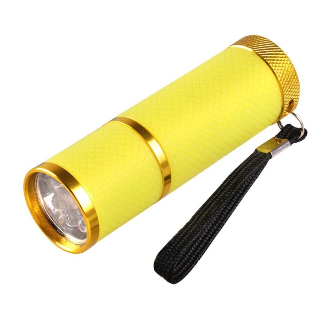 Zolimx Chiodo Torcia Elettrica, Mini LED UV Gel Polimerizzazione Luce Professionale Asciugatrice Veloce Curare Chiodo Torcia Elettrica