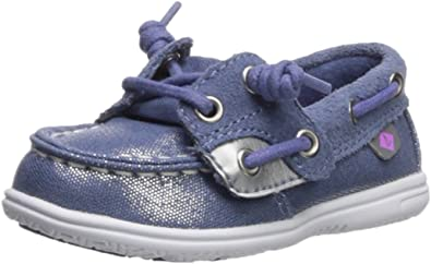 SPERRY Kids Shoresider Jr//Blue Boat Shoe