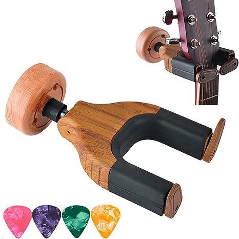 Soporte de pared para guitarra, gancho para guitarra, soporte de ...