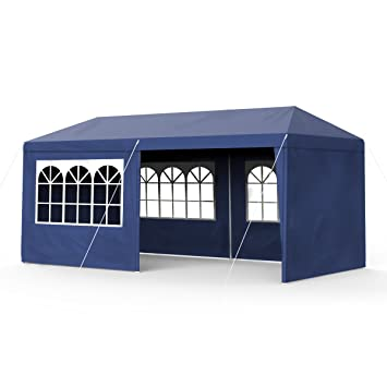 Sekey Garden - Tente de Jardin étanche - 3 x 6 m - Tonnelle de ...