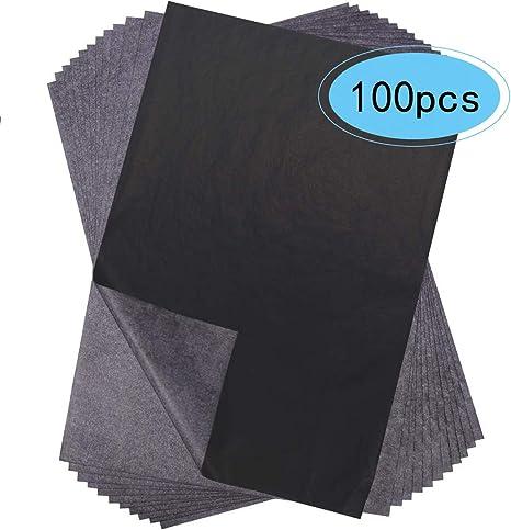 100 Blatt A4 Graphitn Kohlepapier Pauspapier Carbon Papier Transparentpapier DIY