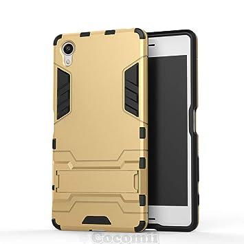 Cocomii Iron Man Armor Sony Xperia X Performance Funda [Robusto] Táctico Sujeción Soporte Antichoque Caja [Militar Defensor] Cuerpo Completo Case ...