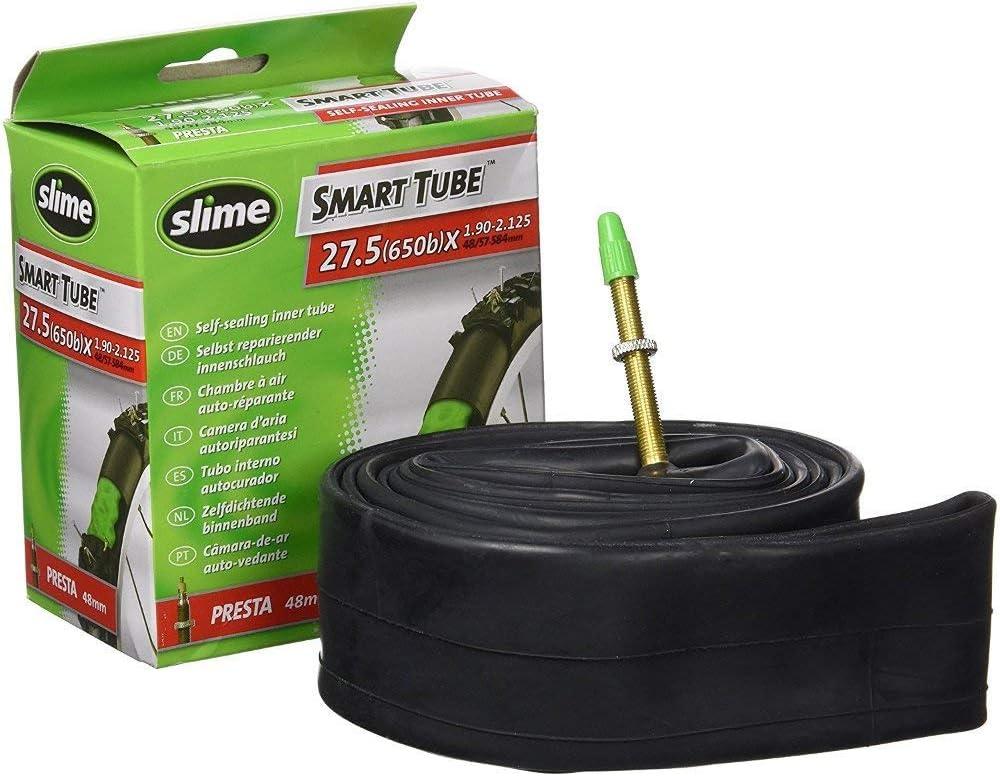 27.5 x 1.90-2.125 Slime Self-Sealing Inner Tube Presta Valve