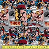 Camelot Marvel Comics II Thor Sewing Fabric (Priced Per Metre) by Camelot