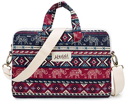 bohemian laptop shoulder messenger bag