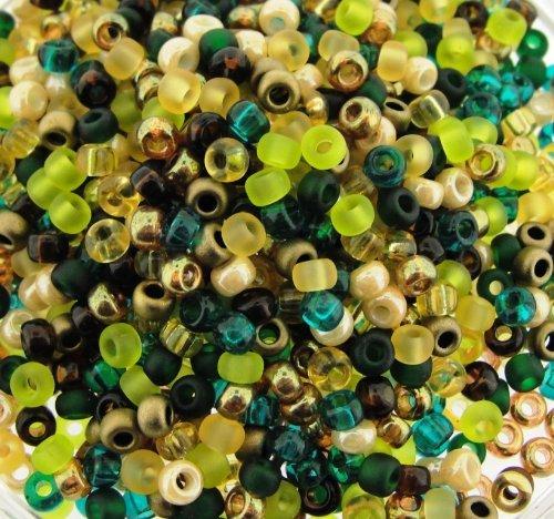Miyuki Round Seed Beads Size 8/0 22g Earthtones -