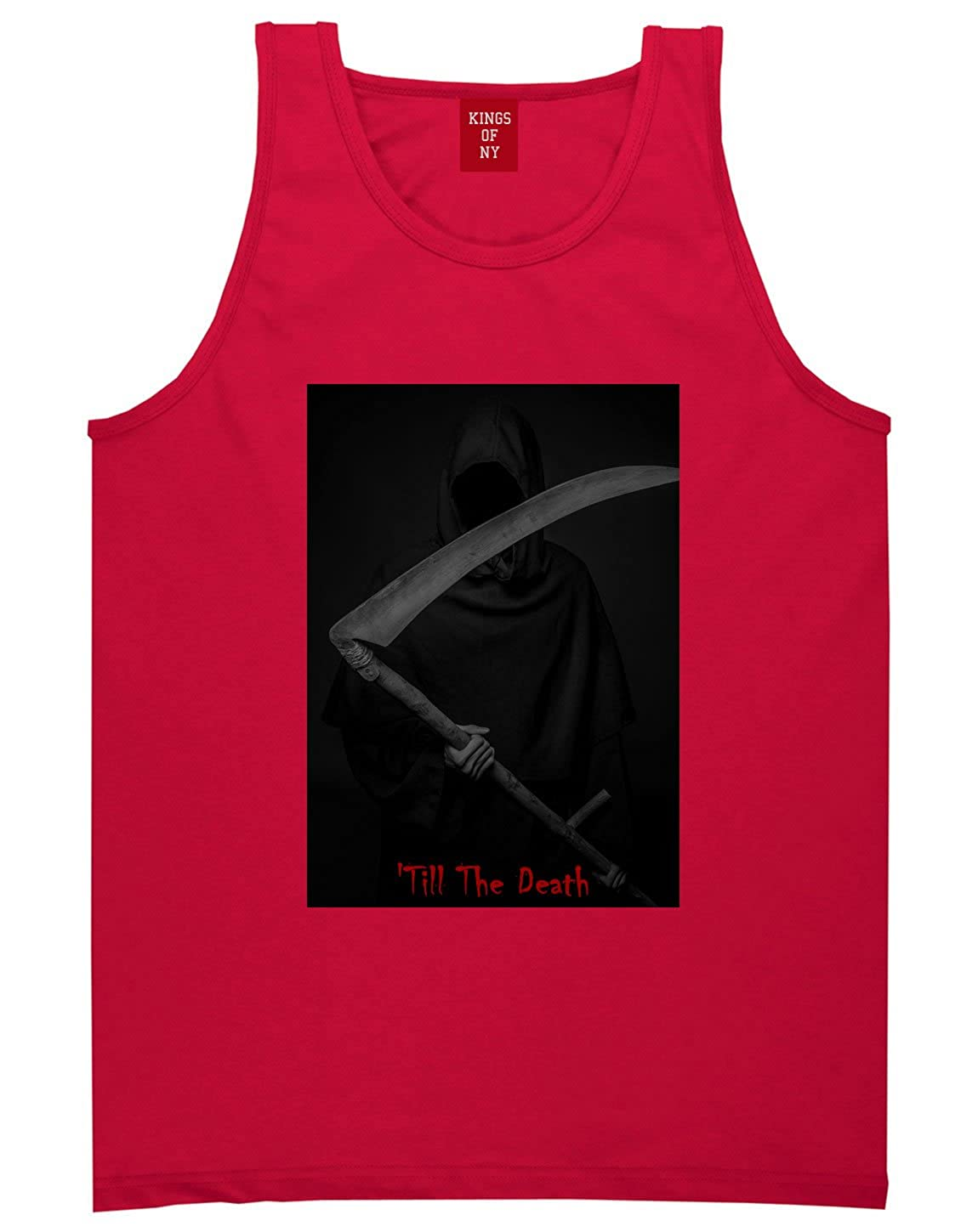 Kings Of NY Till The Death Grim Reaper Mens Tank Top