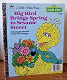img - for Big Bird Brings Spring to Sesame Street (A Little Golden Book) book / textbook / text book