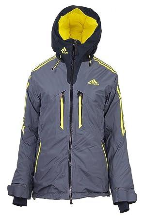 9c187e2ab203 adidas Damen Winter Ski Coach Jacket Winterjacke Skijacke Performance grau,  Bekleidung 44