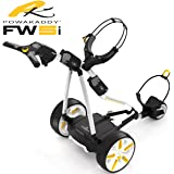 POWAKADDY CARRITO DE GOLF ELECTRICO FW5s COLOR GRAFITO CON BATERIA DE LITIO 18 HOYOS