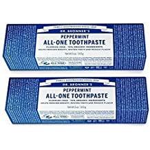 Toothpaste Peppermint Dr. Bronner's 5 oz Paste Pack of 2 (2) by Dr. Bronner's