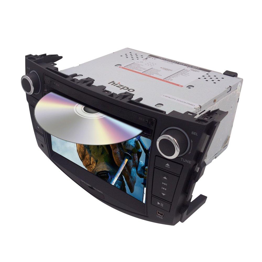 7インチでダッシュHDタッチ画面車CD DVDプレーヤーFM/AMラジオステレオGPS RDSナビゲーションマップカードfor Toyota rav4 2006 – 2012 B077C2TH6V