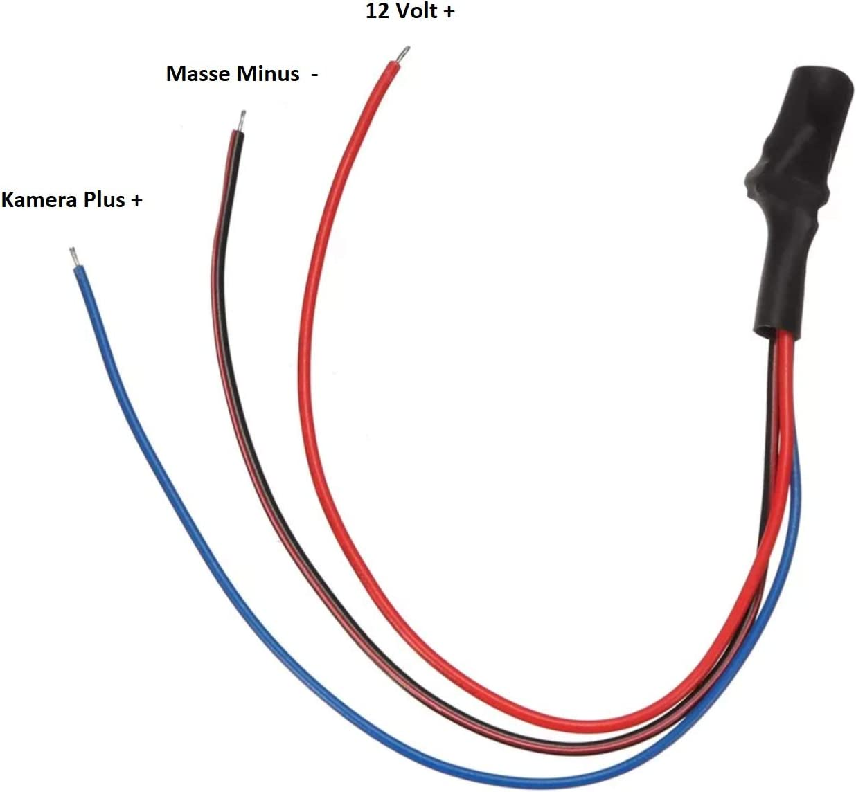Getaktete Power Signal Filter and 12/Volt for Reversing Camera Canbus