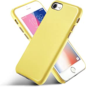 CORTAILOR Leather Case Compatible with iPhone 8 iPhone 7, Ultra Thin Slim Shockproof Anti-Scratch Protective Case Designed for iPhone 7 iPhone 8, 4.7