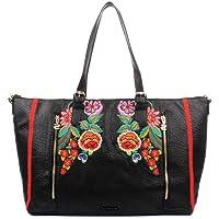 DESIGUAL MEX VERONA Handtassen femmes Zwart Handtassen lang hengsel