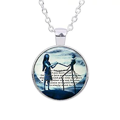 Amazon Com Oval The Nightmare Before Christmas Glass Dome Pendant