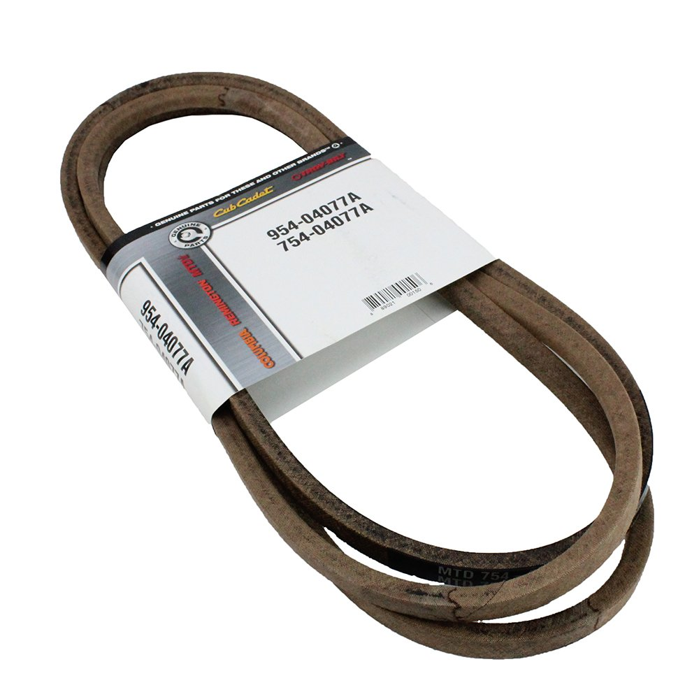MTD 954-04077A Lawn Tractor Blade Drive Belt Genuine Original Equipment Manufacturer (OEM) Part by MTD