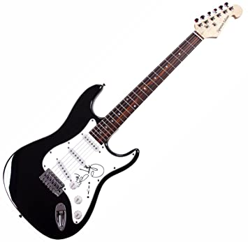 Cher firmada firmado guitarra eléctrica AFTAL UACC RD COA: Amazon.es ...