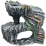 Perfk 2セット 両生類 爬虫類 飼育ケース内装 ビバリウム 葡萄木 アイビー 人工植物 飾り物