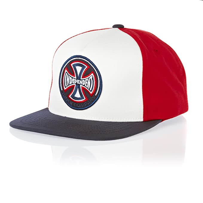 Independent sombrero para hombre Rot - Rouge - Blanc/rouge Talla ...