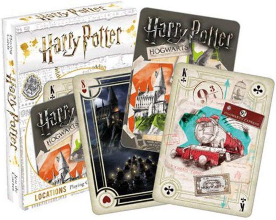 HARRY POTTER Lugares Carta de Juego: Amazon.es: Juguetes y juegos