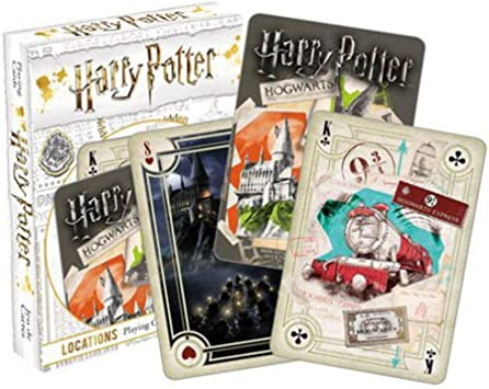 HARRY POTTER Lugares Carta de Juego: Amazon.es: Juguetes y ...