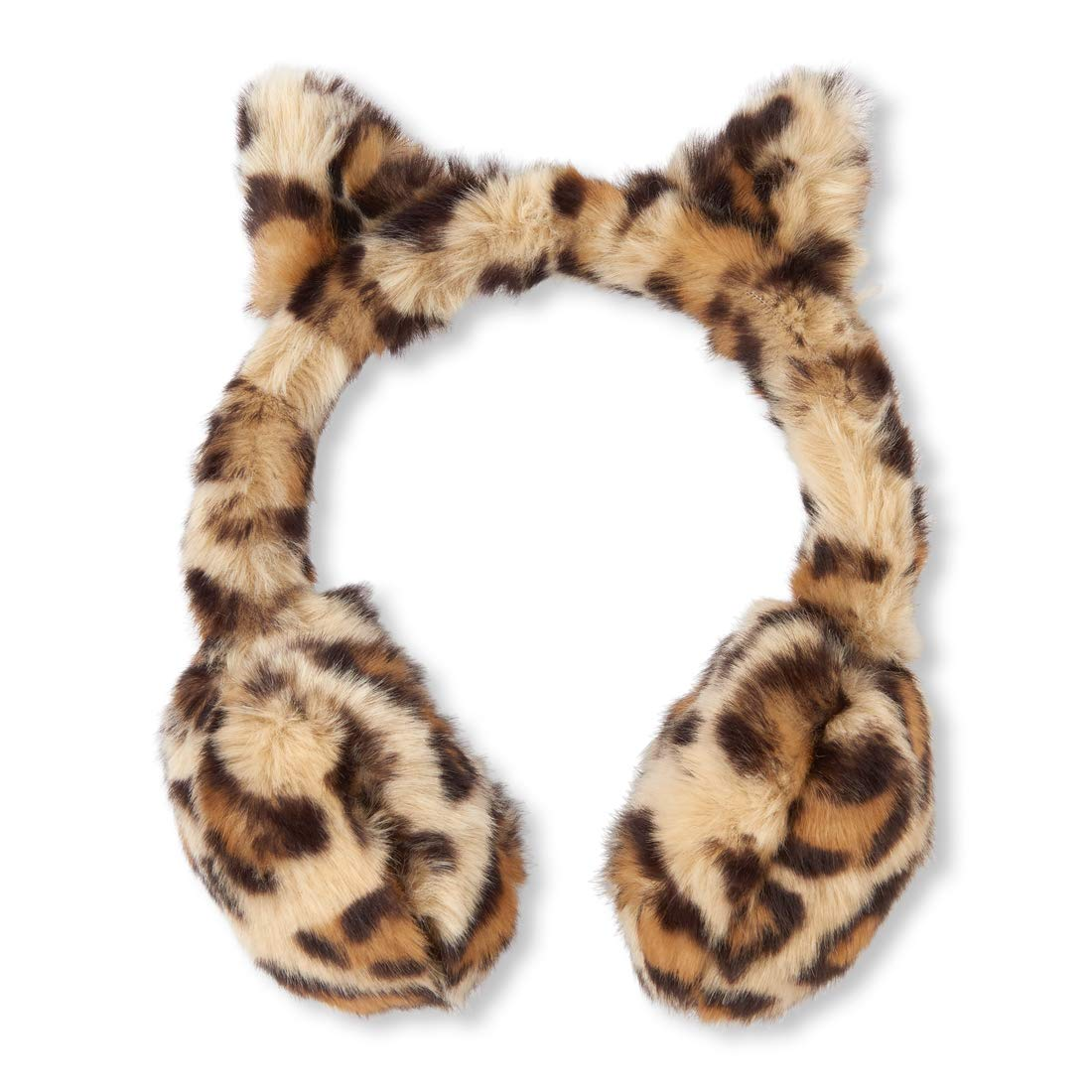 The Children's Place Big Girls' Earmuff Leopard NO_Size The Children' s Place 2115298