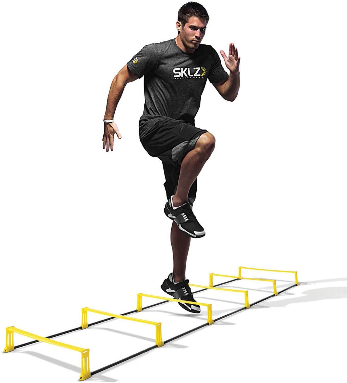 SKLZ Elevation 2-In-1 Speed Hurdles and Ladder [並行輸入品] B07R4TWNB8