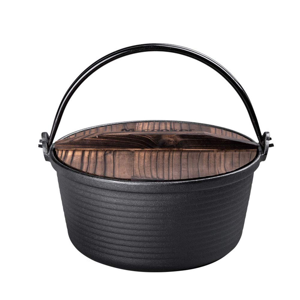 Casserole dishes with lids hob to oven induction,Cast Iron Casserole Dish Ju Neng family pot bottom thickening deep non-stick pan 26CM birthday gift for family