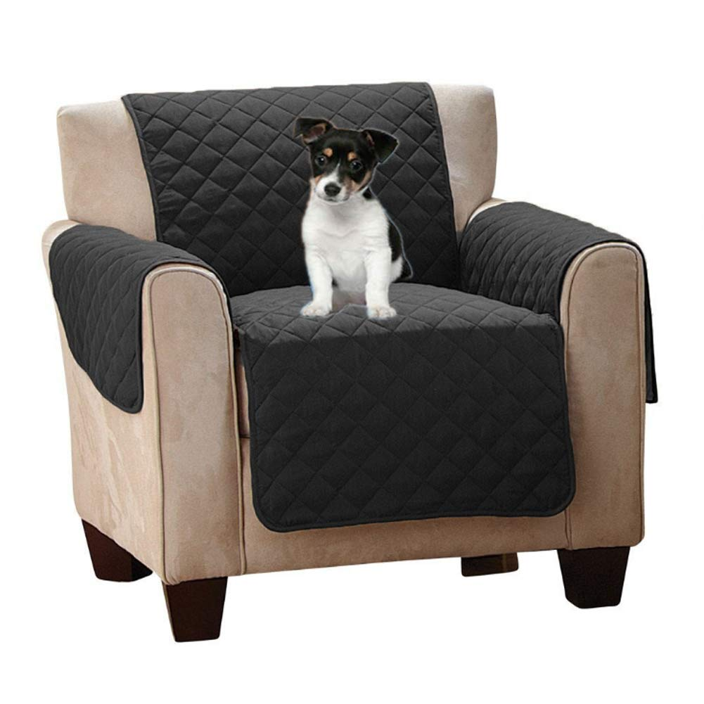 Black chair Black chair Pet Sofa Slipcover Black Anti-Slip Couch Furniture Predector,Black,chair