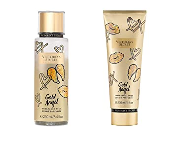 Amazoncom Victorias Secret Showtime Fragrance Gold Angel Body