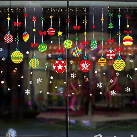 Amazon.com: FINENICEMerry Christmas Household Room Wall Sticker ...