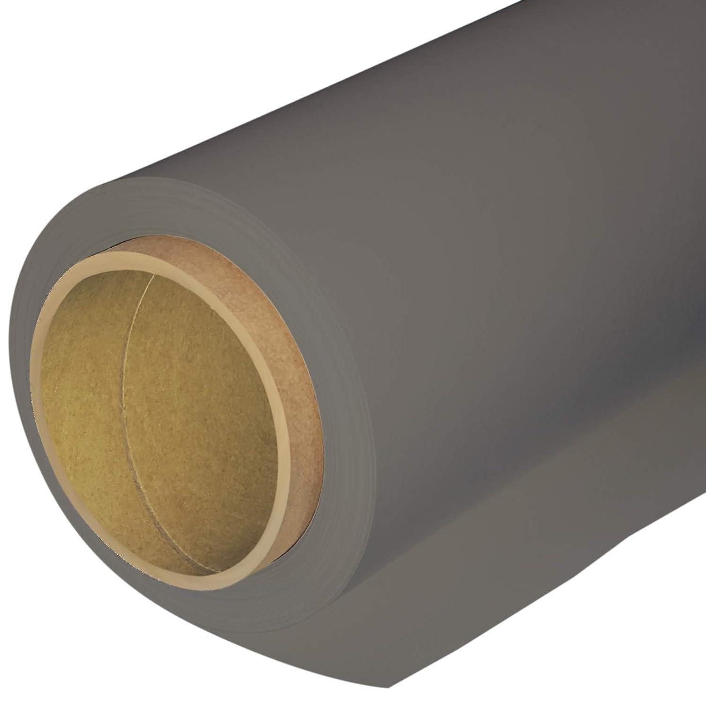 Huameiシームレスな写真背景紙、写真バックドロップ用紙107-inches Wide x 36-feet、43 Doveグレー(272143 )   B07FDCLZDQ