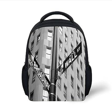 Amazon.com  iPrint Kids School Backpack NYC Decor c620b2291a579