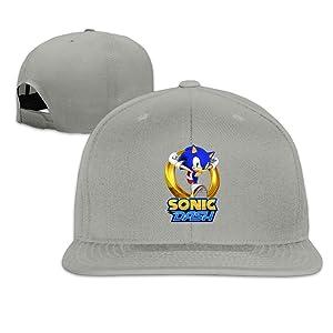 Sonic The Hedgehog Sonic Dash Flat Brim Baseball Hat